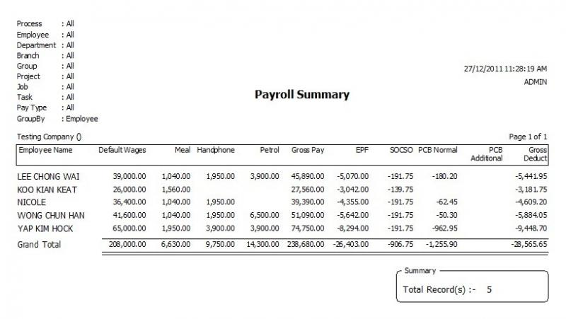 Alpine Tech :: About SQL Payroll